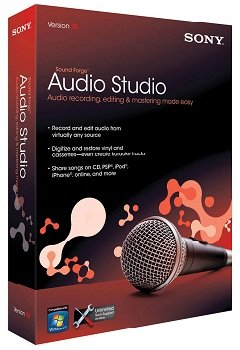 SONY Sound Forge Audio Studio 10.0 Build 252 Multi (2014) Русский