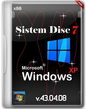 System disc 7 - Windows XP Professional Edition x86 Service Pack 3 v.43.04.08 DVD/USB (2014) Русский