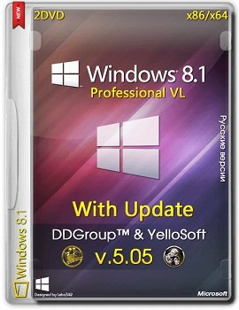 Windows 8.1 Pro vl [x64-x86] with Update v.05.05 by DDGroup & YelloSoft (2014) Русский