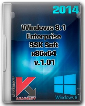 Windows 8.1 Enterprise [x86+x64] SSK Soft v.1.01 (2014) Русский