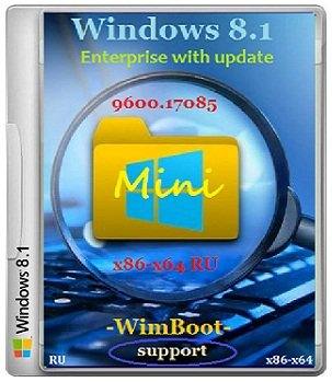 Windows 8.1 Enterprise x86+x64 17085 RU Mini by Lopatkin (2014) Rus