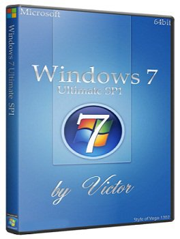Windows 7 SP1 Ultimate 64bit by Victor (2014) Rus