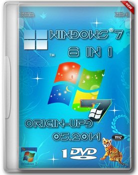 Windows 7 SP1 8in1 x86+x64 Origin-Upd by OVGorskiy 1DVD (05.2014) Rus