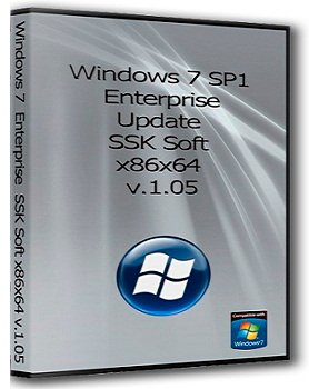 Windows 7 Enterprise x86/x64 Update SSK Soft v.1.05 (2014) Rus