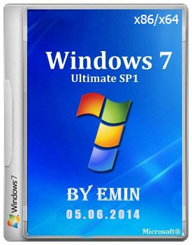Windows 7 Ultimate x86-x64 by EmiN v.05.06.14 (2014) Rus