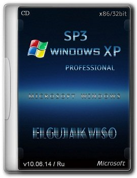 Windows XP Professional x86 SP3 Elgujakviso Edition v10.06.14 (2014) Rus