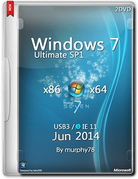 Windows 7 Ultimate x86-x64 SP1 by murphy78 (2014) Rus