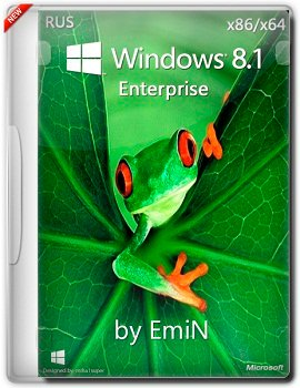 Windows 8.1 Enterprise x86-x64 by EmiN (2014) Rus