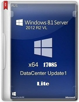 Windows 8.1 Server 2012 x64 R2 VL DataCenter 17085 Lite by Lopatkin (2014) Rus