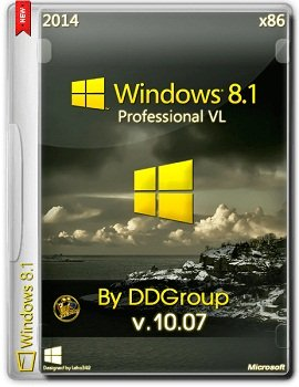 Windows 8.1 Professional vl x86 v.10.07 by DDGroup [2014] Rus