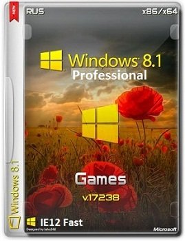 Windows 8.1 Pro x86-x64 VL 17238 IE12.Fast.Games by Lopatkin (2014) Rus