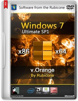 Windows 7 Ultimate SP1 x86-x64 v.Orange by Rubicone [2014] Rus