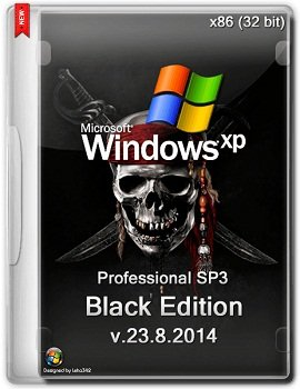 Windows XP Professional SP3 x86 Black Edition v.23.8.2014 (2014) Rus