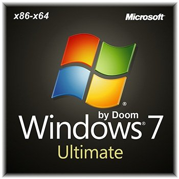 Windows 7 Ultimate x86-x64 sp1 by Doom v.1.05 (2014) Rus