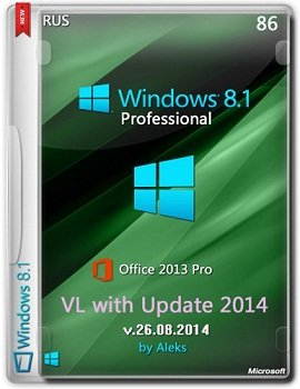 Windows 8.1 Pro VL with Update & Office 2013 by Aleks (2014) Rus