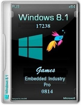 Windows 8.1 Embedded Industry Pro x64 Games by Lopatkin (2014) Rus