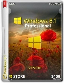 Windows 8.1 Pro  x86-x64 VL 17238 Store 1409 by Lopatkin Rus