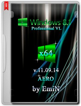 Windows 8.1 Pro x64 AERO v.11.09.2014 by EmiN Rus
