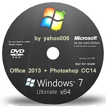 Windows 7 Ultimate SP1 х64 ( Office 2013 + Photoshop CC 14) by yahoo006 v.1 Rus