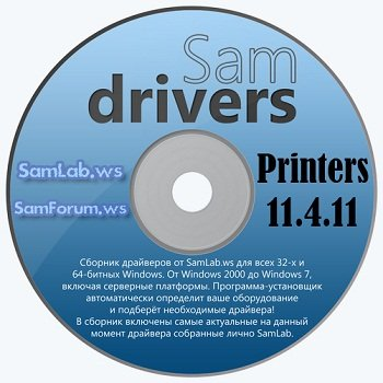 SamDrivers 11.4.11 Printers for Snappy Driver Installer Multi/Ru