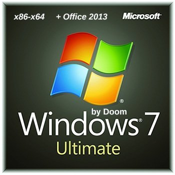 Windows 7 Ultimate x86/x64 Office 2013 by Doom v.1.18 (2014) Rus