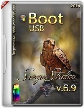 Boot USB Sergei Strelec 2014 v.6.9 x86-x64 (Windows 8 PE) Rus