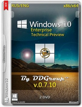Windows 10 Enterprise x86-x64 Technical Preview (v.07.10) by DDGroup