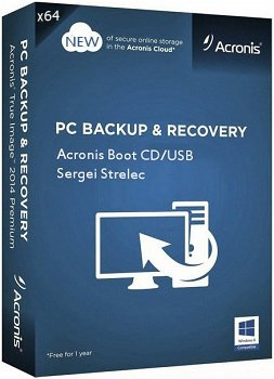 Acronis Boot CD/USB x64 Sergei Strelec (17.10.2014) Rus