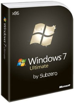 Windows 7 Ultimate Edition x86 SP1 by Subzero (2014) Rus