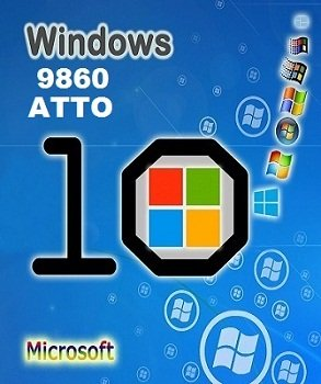 Windows 10 Technical Preview (Pro) 6.4.9860 x86-x64 EN-RU ATTO by Lopatkin (2014) Rus