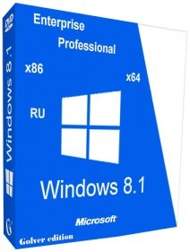 Windows 8.1 with Update Pro-Ent x86-x64 STR by Golver 10.2014 2DVD (2014) Rus