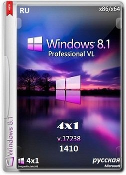 Windows 8.1 Pro x86-x64 VL 17238 RU 4x1 1410 by Lopatkin (2014) Русский