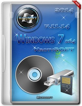 Windows 7 Ultimate x64 by KrotySOFT v.11.14 (2014) Rus