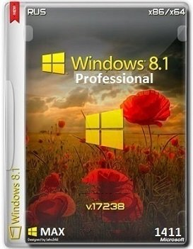 Windows 8.1 Pro Retail 17238 x86-x64 RU MAX 1411 by Lopatkin (2014) Rus