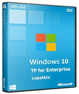 Windows 10 TP for Enterprise 6.4.9879 (x86-x64) EN-RU FX by Lopatkin (2014) Rus