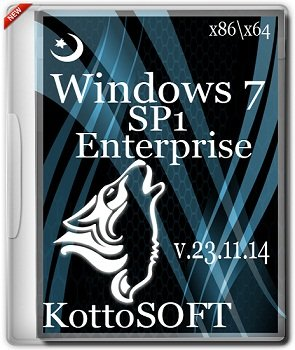 Windows 7 Enterprise x86-x64 KottoSOFT V.23.11.14 (2014) Rus