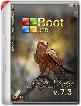 Boot USB Sergei Strelec 2014 v.7.3 (x86-x64/Native x86) (Windows 8 PE) Rus