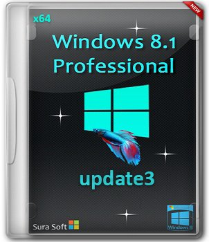 Windоws 8.1 Professional x64 update3 by sura soft (2014) Rus
