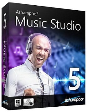 Ashampoo Music Studio 5.0.7.1 RePack (& portable) by KpoJIuK [Multi/Ru]