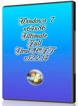 Windows 7 Ultimate Full UralSOFT v12.2.14 (x86-x64) (2014) [Rus]