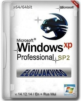 Windows XP Pro SP2 Elgujakviso Edition v.14.12.14 (x64) (2014) [Rus]
