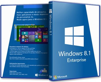 Windows 8.1 Enterprise with update by Fenix (x64) (2014) [RUS]