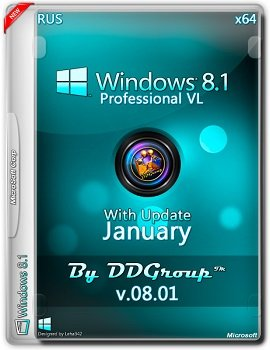 Windows 8.1 Pro vl x64 with Update (January) [v.08.01]by DDGroup™[Ru]