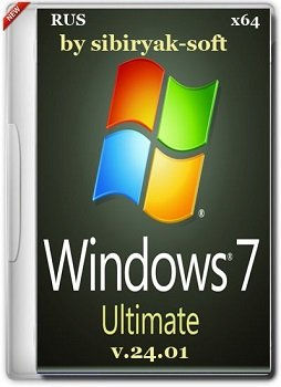 Windows 7 Ultimate SP1 (x64) by sibiryak-soft v.24.01 (2015) [RUS]