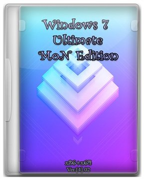 Windows 7 SP1 Ultimate (x86-x64) MoN Edition [4].02 (2015) [Rus]
