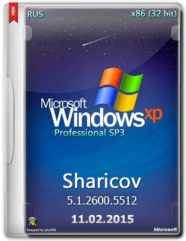 Windows XP Professional SP3 VL Russian (x86) By Sharicov (11.02.2015) [RUS]