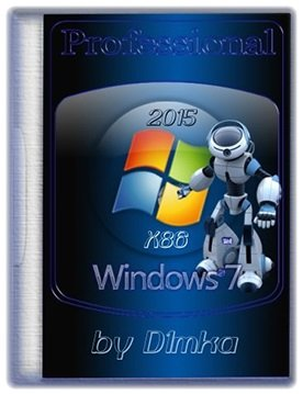 Windows 7 Professional SP1 (x86) by D1mka (2015) [Ru]