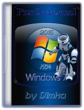 Windows 7 Professional SP1 (x64) by D1mka (2015) [Ru]