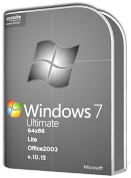 Windows 7 Ultimate SP1 (x86-x64) & Office2003 by UralSOFT v.10.15 Lite (2015) [RUS]