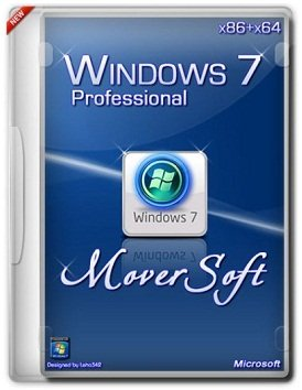 Windows 7 Pro SP1 (x86-x64) by MoverSoft 03.2015 (2015) [Rus]